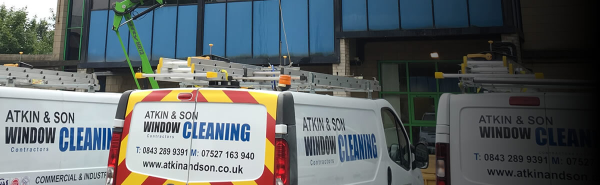 industrial and commercial window cleaning yorkshire